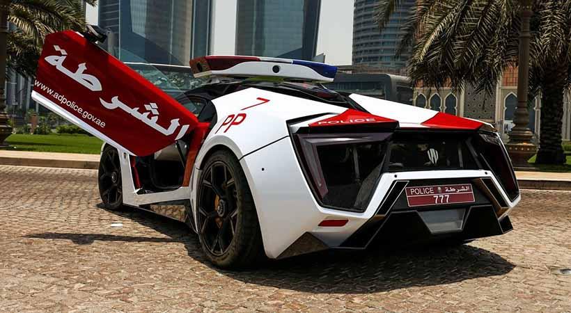 Lykan Hypersport se convierte en patrulla de la policía de Abu Dhabi