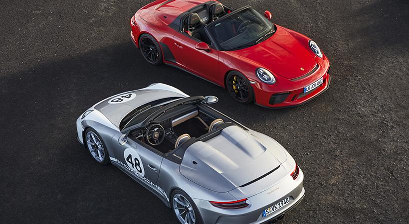 Porsche 911 Speedster Edición Limitada con 510 caballos de fuerza