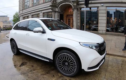 Test Drive Mercedes-Benz EQC 2020