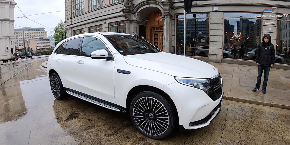 Test Drive Mercedes-Benz EQC 2020