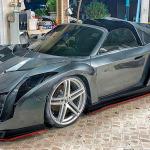 En Tailandia crean una réplica de Lamborghini Veneno sobre un Toyota MR2