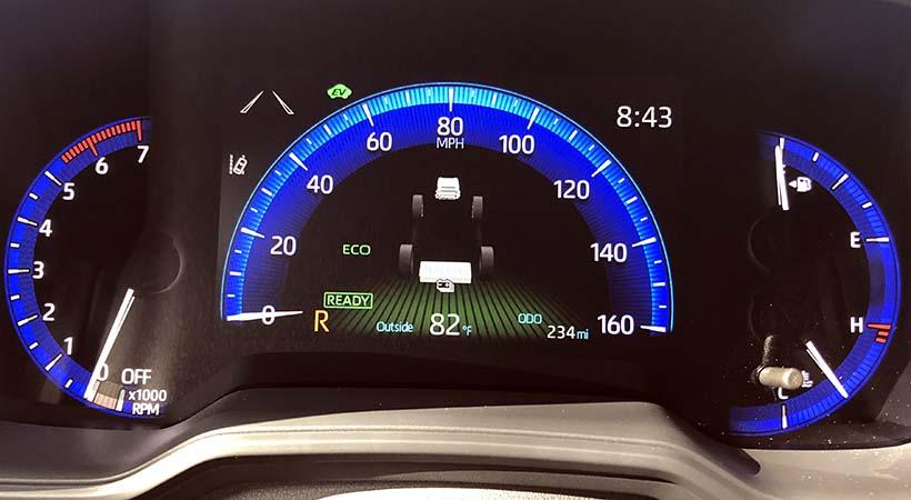 Test Drive Toyota Corolla Hybrid 2020