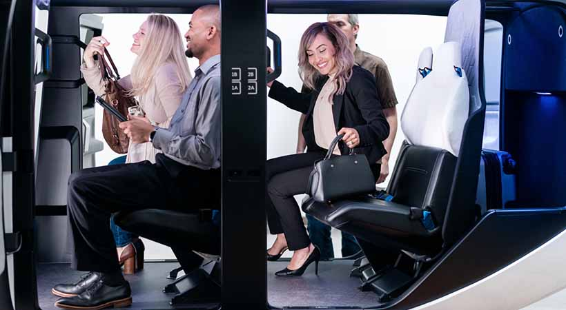 taxis voladores uber
