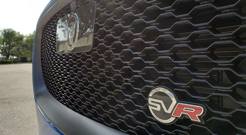 Test Drive Jaguar F-Pace SVR 2019