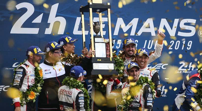 Toyota ganó las 24 Horas de Le Mans 2019, 2da. victoria consecutiva