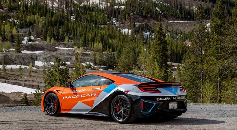 Acura NSX 2019 será el nuevo Pace Car de Pikes Peak
