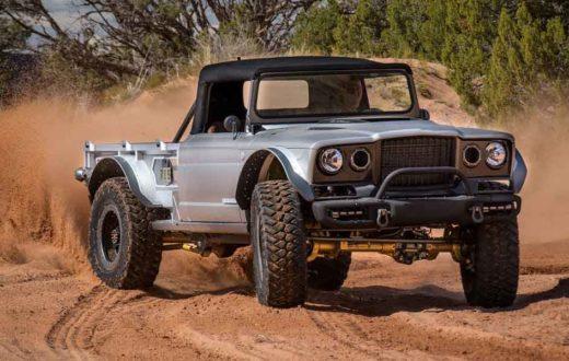Video, Jeep M-715 Five-Quarter, así se creó este increíble vehículo off-road