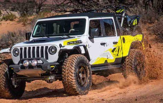 video Jeep Flatbill