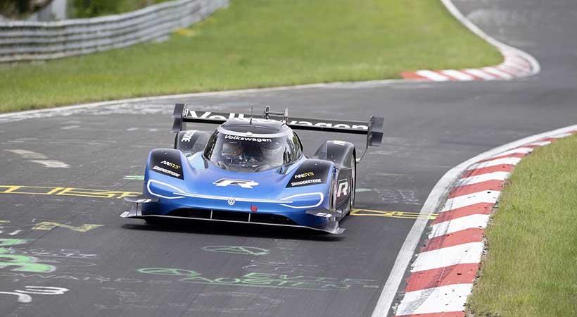 Volkswagen ID.R rompe el récord de velocidad en Nüburgring