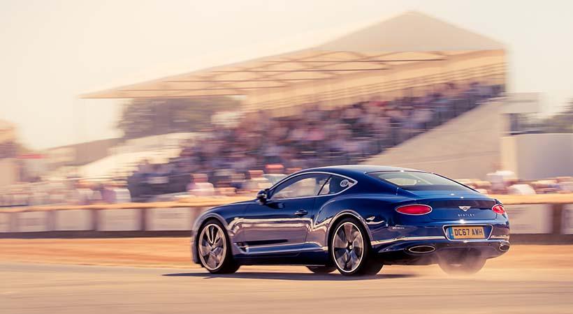 Festejo del centenario Bentley en el Goodwood Festival of Speed