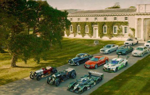 Festejo del centenario Bentley