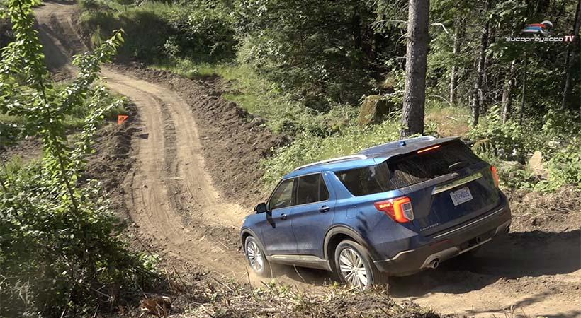 1er. vistazo Ford Explorer 2020