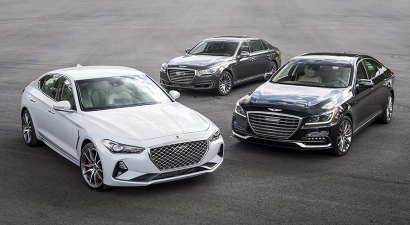 Genesis, Kia, Hyundai Top 3 en calidad