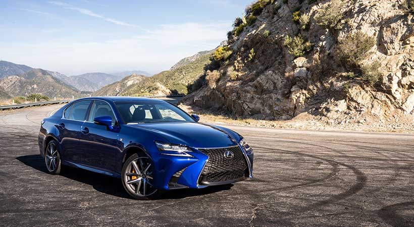 Video, Lexus GS350 F Sport 2019