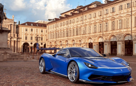 Pininfarina Battista, rediseñado y estrenando color