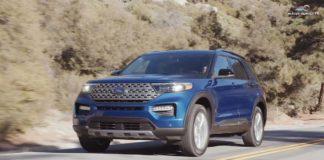 Test Drive Ford Explorer 2020