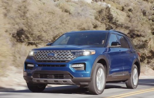 Test Drive Ford Explorer 2020