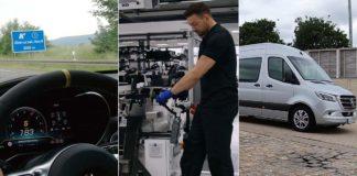 Triple debut Mercedes-Benz