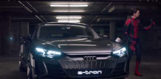 Audi e-tron y Spider-Man