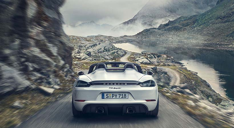 Motor atmosférico Porsche 414 HP