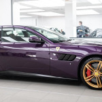 Video, Jay Kay pinta de color púrpura su Ferrari GTC4Lusso