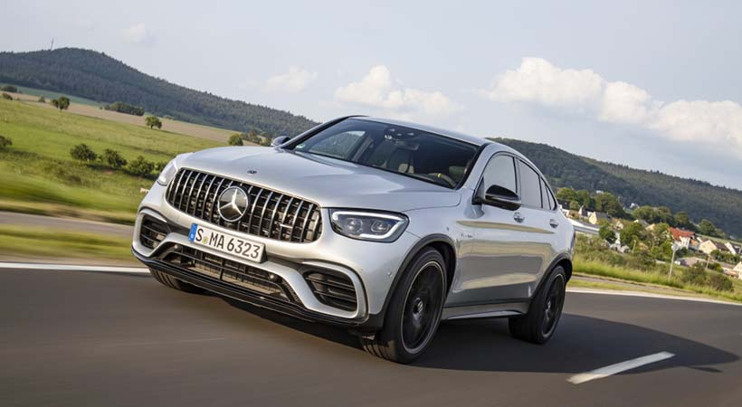 Test Drive Mercedes-Benz GLC 2020 on-road y off-road en Frankfurt