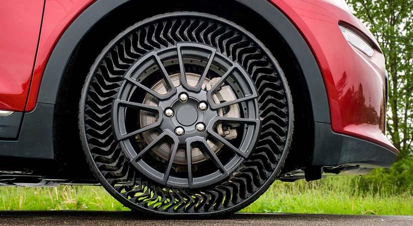 Michelin Uptis, el neumático sin aire llegaría en 2024