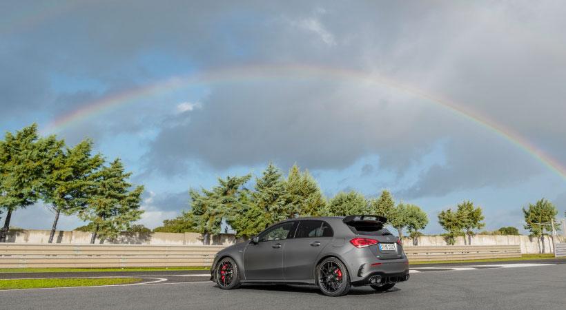 Debut Mercedes-AMG A 45 4MATIC+ y CLA 45 4MATIC+ 2020