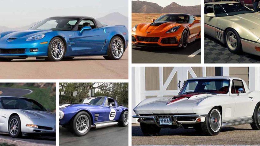 Top 10 mejores ediciones especiales del Chevrolet Corvette