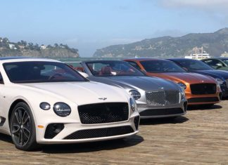 Test Drive Bentley Continental V8 2020