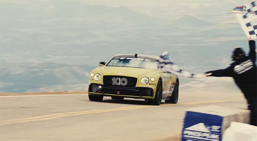 Récord Bentley Continental GT en Pikes Peak 2019