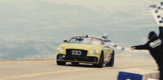 Record Bentley Continental GT