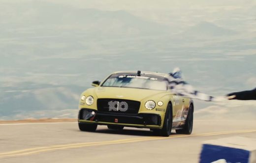 Record Bentley Continental GT