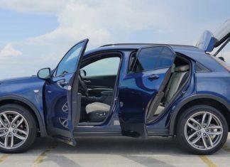 Test Drive Cadillac XT4 2019