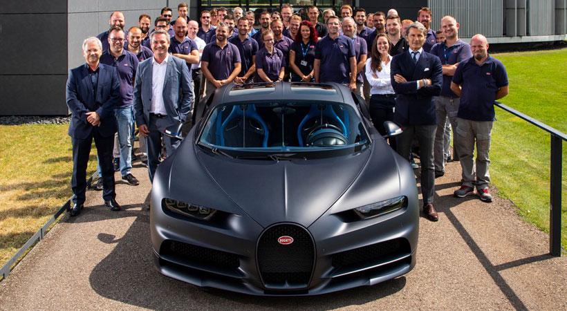 Producción del Bugatti Chiron alcanza las 200 unidades