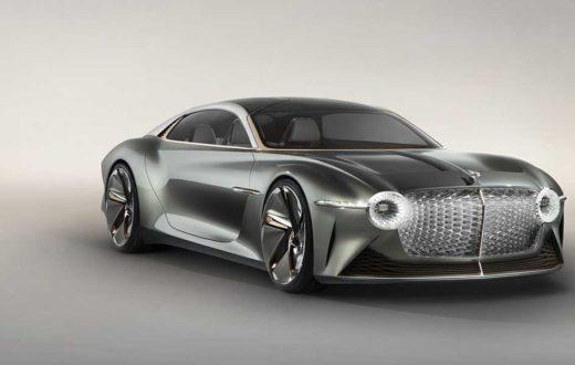Bentley EXP 100 GT, el lujo máximo ahora es eléctrico y autónomo