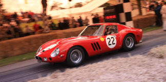 Ferrari 250 GTO catalogado como arte