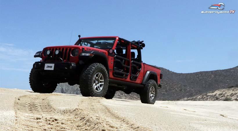 Jeep Gladiator 2020 con Off-road México en Cabo San Lucas