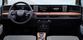 Interior del Honda e