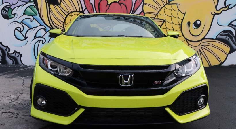 Honda Civic Si 2019