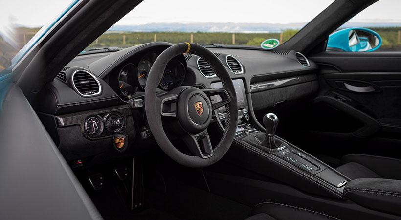 Motores NA Porsche 718 Cayman GT4