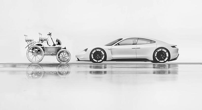 Autos eléctricos Porsche