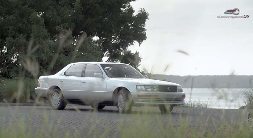 Test Drive Lexus Ls 400 1989
