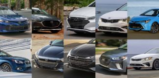 Top 10 mejores autos 2019