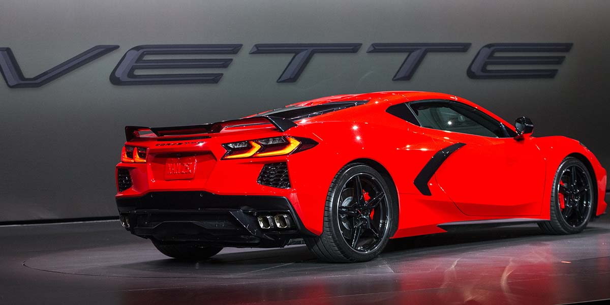 Video debut Corvette Sringray 2020