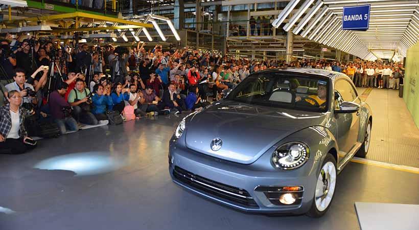 último Volkswagen Beetle