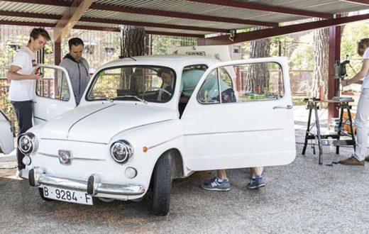 El clásico SEAT 600 se vuelve eléctrico gracias a un grupo de estudiantes