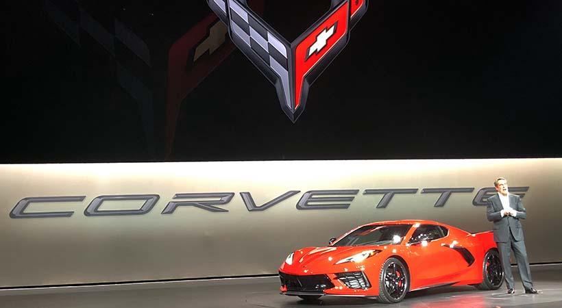 Debut Chevrolet Corvette C8