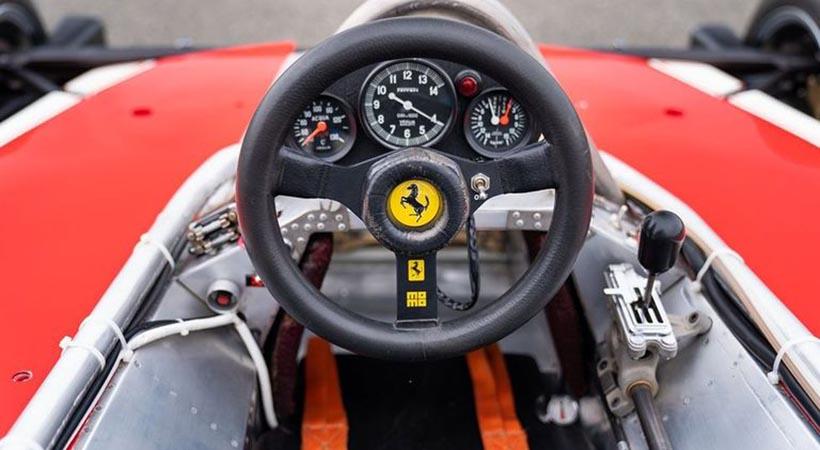Ferrari 312T de Nikki Lauda será subastado en Pebble Beach
