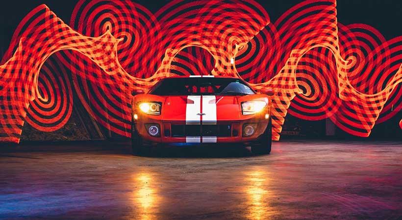A subasta un Ford GT con menos de 12 millas de uso